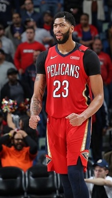 Anthony Davis -HIgehst paid NBA  players 2018