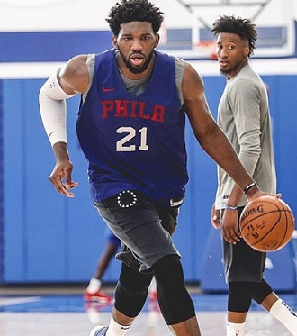 Joel Embiid - highest paid NBA player 2018