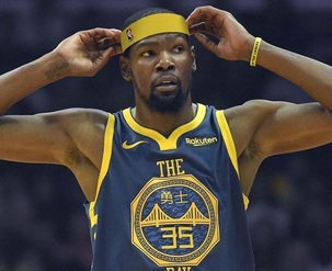 kevin durant - 11th highest paid NBA player 2018
